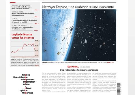 """Article in """"L'Agefi"""""""