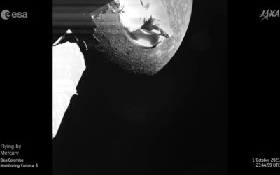 BepiColombo's first Mercury flyby
